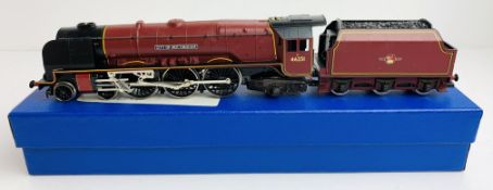 Hornby OO BR Crimson 'City of Nottingham' 46251 Loco - Supplied in Blue Leatherette Box P&P Group
