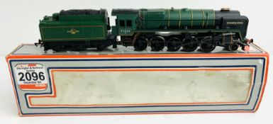 Hornby OO 9F 'Evening Star' 92220 BR Green - In Incorrect Lima Box P&P Group 1 (£14+VAT for the