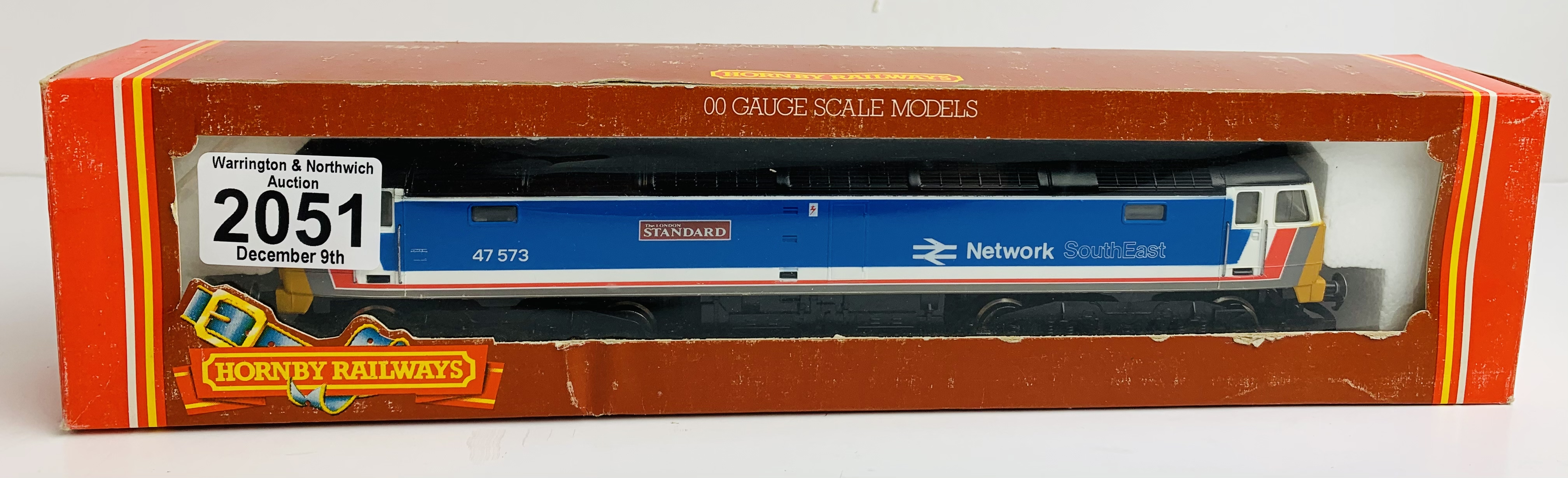 Hornby R876 Class 47 573 Network Southeast 'London Standard ' Loco Boxed P&P Group 1 (£14+VAT for