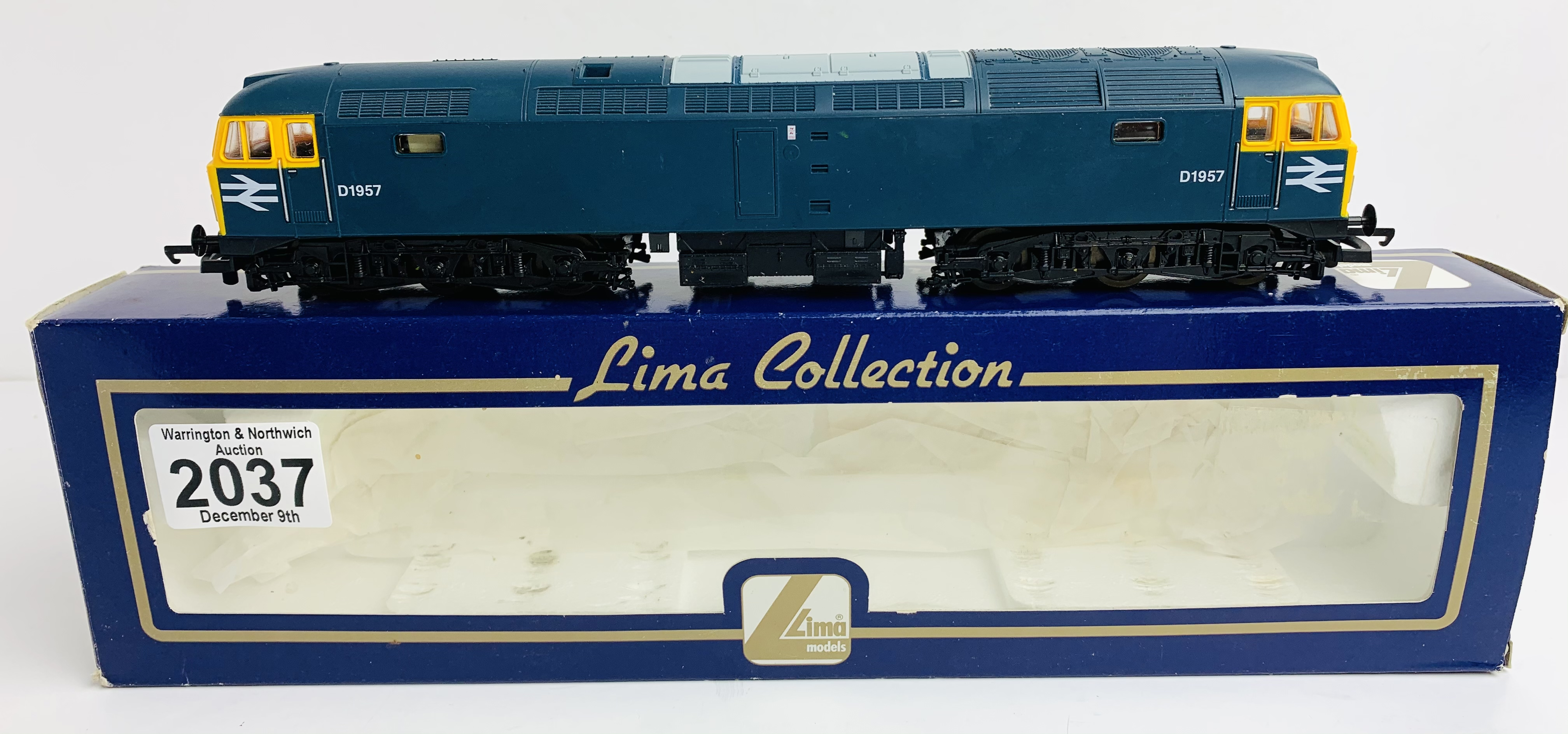 Lima L205192 Class 47 BR Blue D1957 - Boxed P&P Group 1 (£14+VAT for the first lot and £1+VAT for