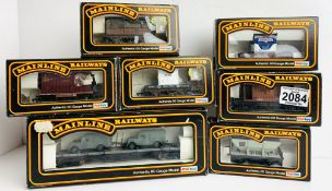 7x Assorted Mainline Freight Wagons - All Boxed. P&P Group 2 (£18+VAT for the first lot and £3+VAT