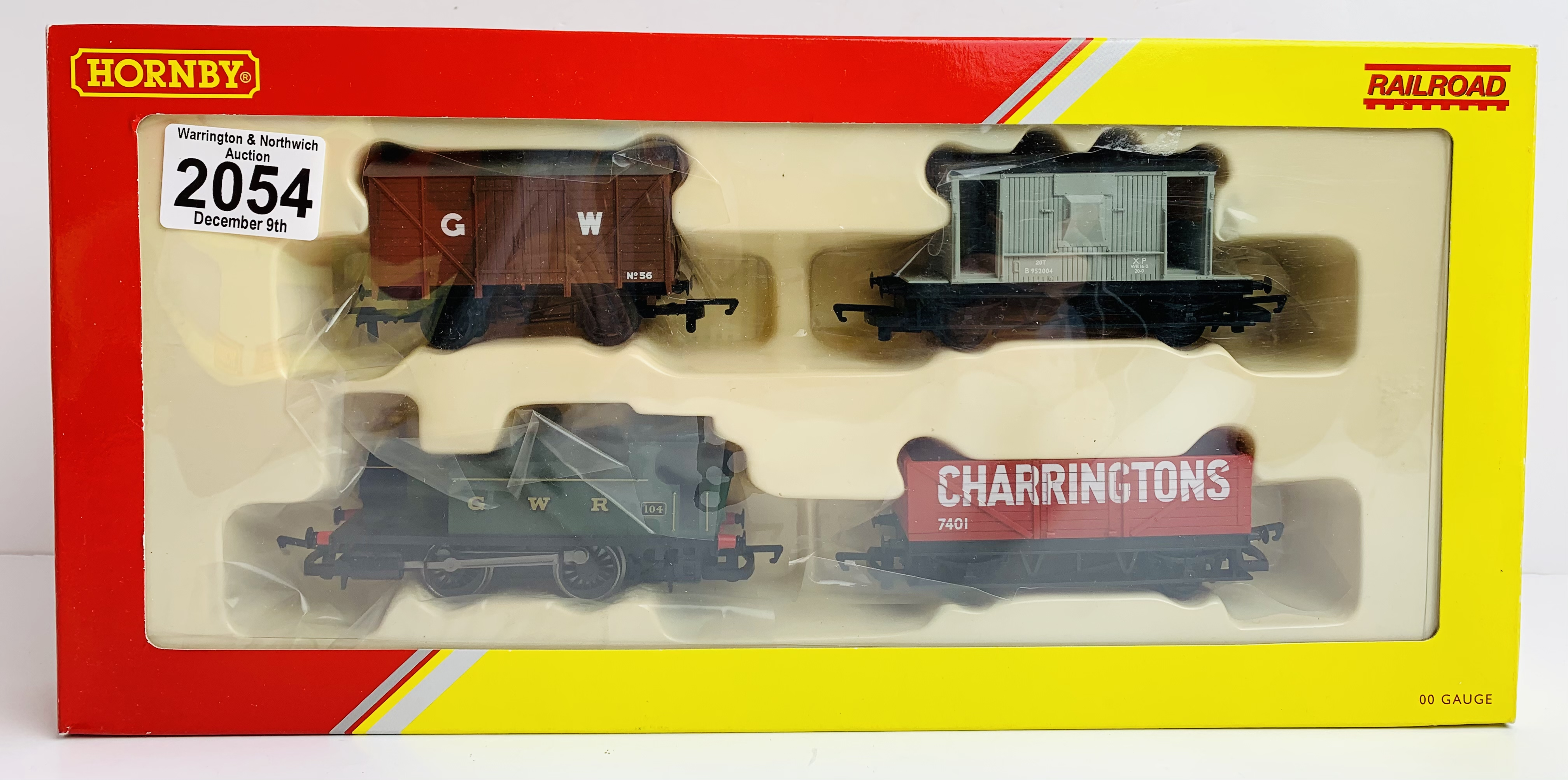 Hornby OO R2670 Railroad Train Pack - Boxed P&P Group 1 (£14+VAT for the first lot and £1+VAT for