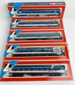 5x Lima OO NSE 'Network Southeast' Coaches - All Boxed. P&P Group 2 (£18+VAT for the first lot