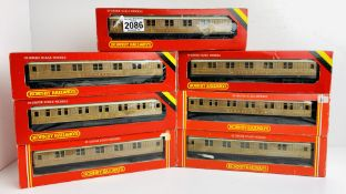 7x Hornby LNER Teak 'Sleeping Car' Coaches - All Boxed P&P Group 2 (£18+VAT for the first lot and £