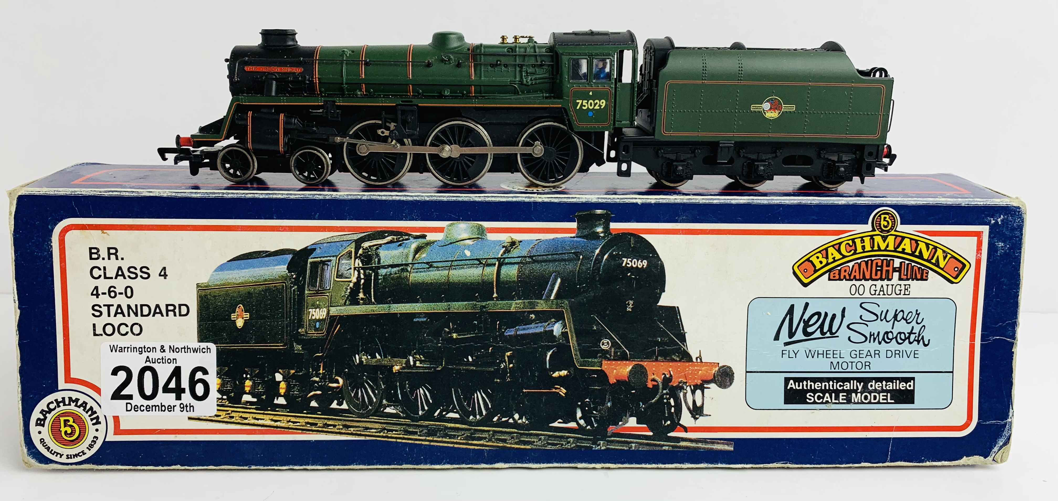 Bachmann 31-104 BR Class 4 Loco - Boxed P&P Group 1 (£14+VAT for the first lot and £1+VAT for