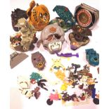Six Mighty Max Toys and others. P&P Group 2 (£18+VAT for the first lot and £3+VAT for subsequent