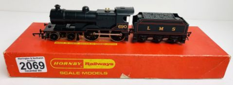 Hornby R450 LMS 4-4-0 Class 2P Fowler Loco - Boxed P&P Group 1 (£14+VAT for the first lot and £1+VAT