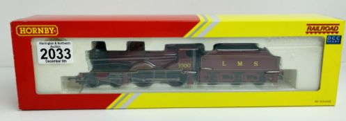 Hornby R3063 LMS Compound 4-4-0 Loco - Boxed P&P Group 1 (£14+VAT for the first lot and £1+VAT for