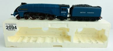 Hornby Class A4 British Railways Blue 60034 'Lord Faringdon' - P&P Group 1 (£14+VAT for the first