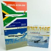 3x Dragon Wings 1:400 Airliners - To Include: South African A330-200, United 767-300, 767-316E