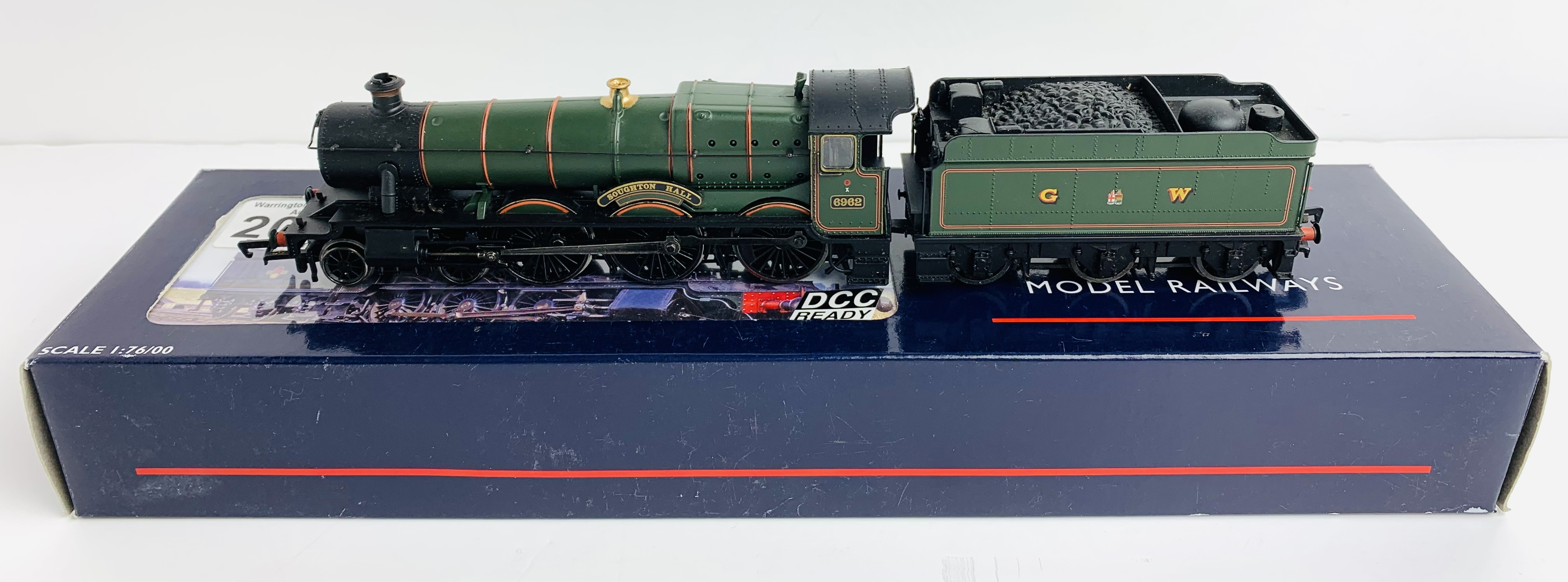 Bachmann / Olivia's Trains 31-777 Hall Class 6962 Soughton Hall GW Green Livery DCC Ready - Boxed.