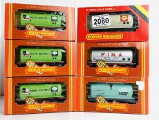 6x Assorted Hornby Tanker Wagons - All Boxed. P&P Group 2 (£18+VAT for the first lot and £3+VAT