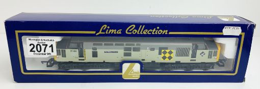 Lima BR Railfreight 37 693 'Sir William Arrol' Loco - Boxed P&P Group 1 (£14+VAT for the first lot
