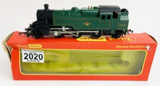 Triang Hornby R59S 2-6-2 Class 3MT Tank BR Green - Boxed P&P Group 1 (£14+VAT for the first lot
