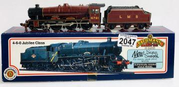 Bachmann 31-154 Jubilee Impregnable LMS Red - Boxed P&P Group 1 (£14+VAT for the first lot and £1+