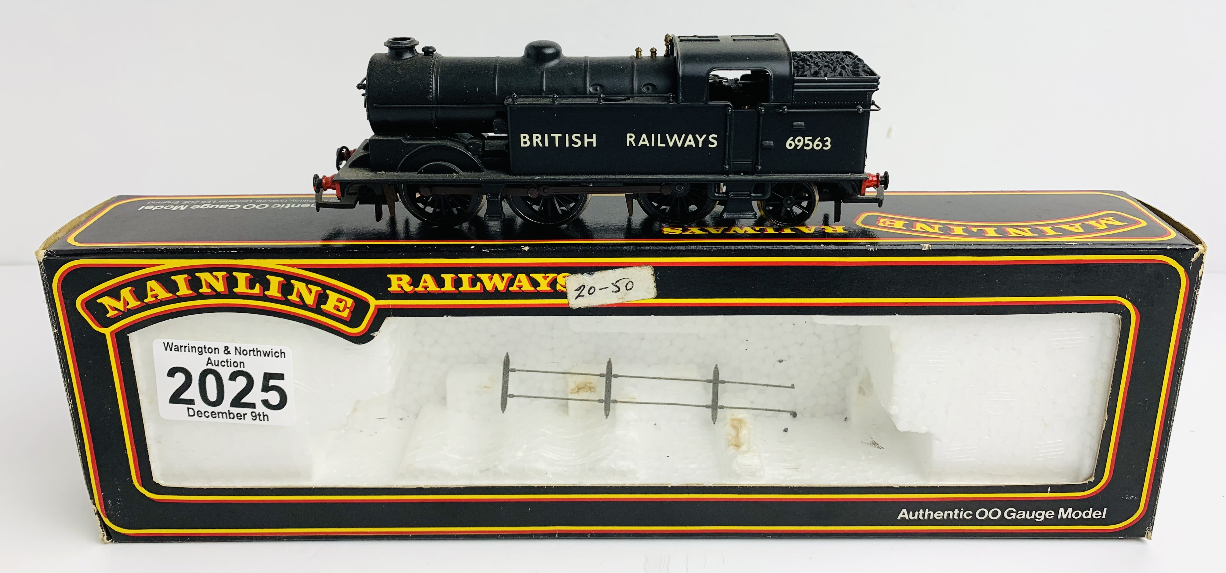 Mainline 54155 N2 Class 0-6-2T BR Black Livery 69563 - Boxed P&P Group 1 (£14+VAT for the first