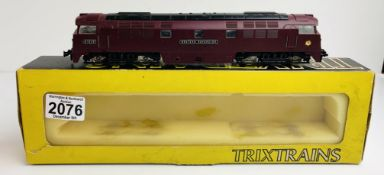Trix Trains OO 'Western Sovereign' BR Loco - Boxed P&P Group 1 (£14+VAT for the first lot and £1+VAT
