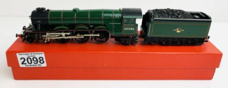 Hornby Code 3 - 'Gainsborough' - Resprayed, Sprung Buffers, Cab Detail, Double Chimney, Driver & Cab