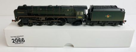 Hornby (China) BR Green 'Dornoch Firth' 70054 Weathered Finish - In Plain White Box P&P Group 1 (£