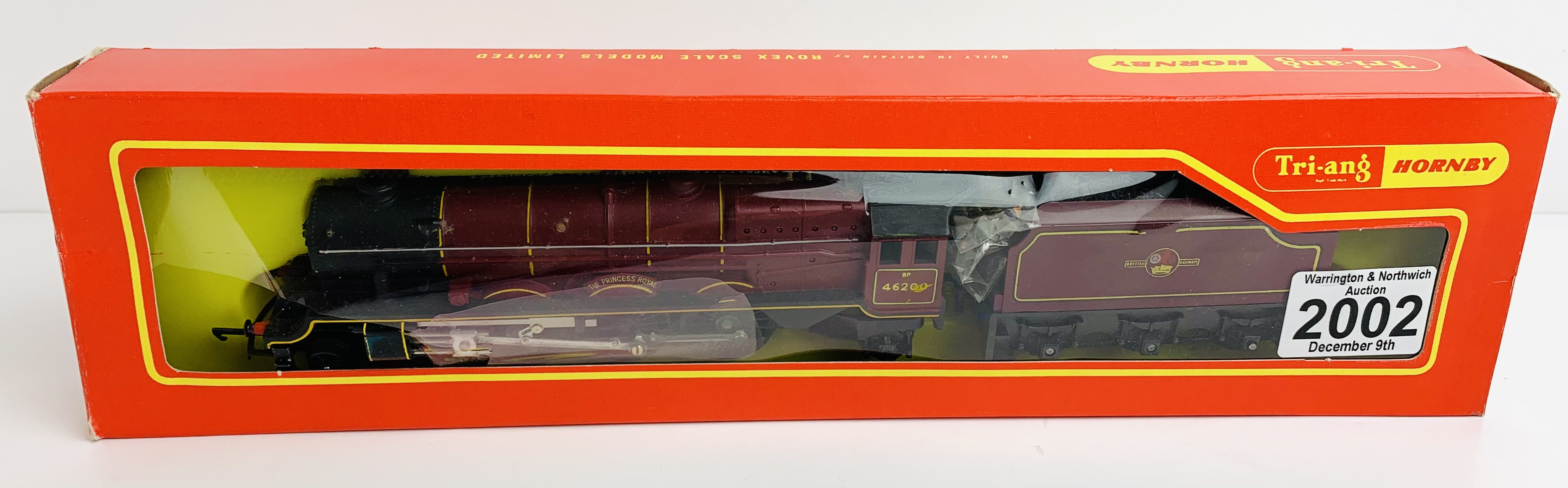 Triang / Hornby R258 'The Princess Royal' BR 46200 Loco - Boxed - P&P Group 1 (£14+VAT for the first