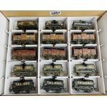 15x Bachmann OO Assorted Wagons - All Factory Weathered Finish. P&P Group 3 (£25+VAT for the first