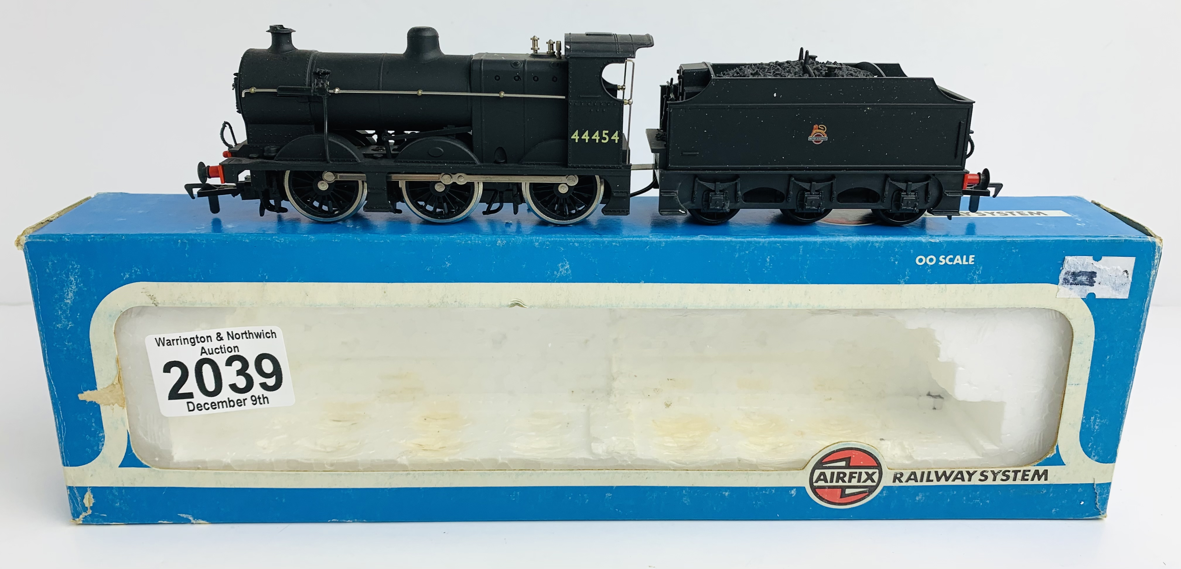 Airfix 4F Fowler BR Livery Loco - Boxed P&P Group 1 (£14+VAT for the first lot and £1+VAT for