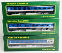 3x Replica Railways NSE Network Southeast Coaches - All Boxed. P&P Group 2 (£18+VAT for the first