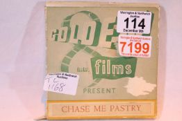 "Golden Films 8mm film, ""Chase me Pastry"". P&P Group 1 (£14+VAT for the first lot and £1+VAT for"