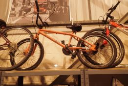 "X Rated decoy BMX bike with 12"" frame and stunt pegs. Not available for in-house P&P"