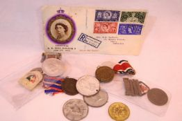 Collection of Royal commemorative medals and tokens. P&P Group 1 (£14+VAT for the first lot and £1+
