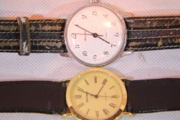 Two Sekonda wristwatches, one quartz, one mechanical. P&P Group 1 (£14+VAT for the first lot and £