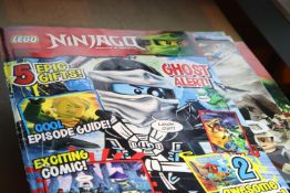 Quantity of magazines/comics including Lego and Beano. Not available for in-house P&P