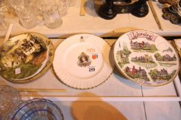 Collection of collectors and commemorative plates. Not available for in-house P&P