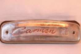 Carmon harmonica, Made in Poland. P&P Group 1 (£14+VAT for the first lot and £1+VAT for subsequent