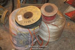 BUNDLES OF STRING AND WIRE