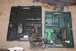 """""""HITATCHI DV18DVC2 DRILL WITH BATTERY AND CHARGER - HITATCHI D514DF DRILL WITH BATTERY AND"""