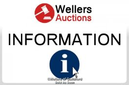 IMPORTANT INFO: THIS AUCTION WILL BE HELD ONLINE WITH REAL TIME BIDDING. THE AUCTION STARTS AT 9: