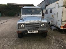 DIESEL LANDROVER DOUBLE CAB