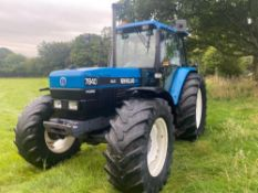 NEW HOLLAND 7840 4WD TRACTOR