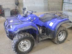 YAMAHA GRIZZLY 350 QUAD BIKE. 2008. AUTO