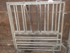 2 SMALLER CALF FEEDING FRONTS + HOLDERS