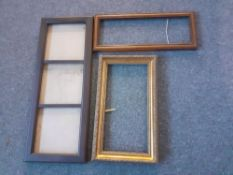 A Qty of picture frames