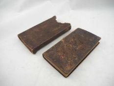 Gebetbuch im original Leder-Etui - handgeschrieben (deutsch) dat. 1800Guter Zustand mit echten