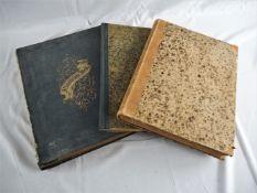 Gebundene Zeitschriften, 1870er Jahre, 3 Bände