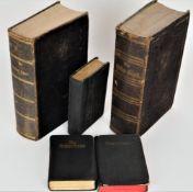 Konvolut unterschiedliche Bibelausgaben