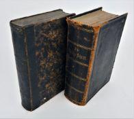 Zwei Bücher Heilige Schriften 19. Jh.