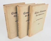 Berthold Litzmann: Clara Schumann - Ein Künstlerleben. Nach Tagebüchern und Bri