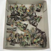 Konvolut Elastolin Soldaten, Wehrmacht