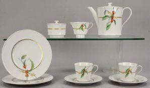 KPM, Kaffeeservice (Sonderedition zum 99-jährigen Bestehen von Jacobs Café), Form 'Urania', Dekor '