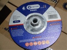 "Lot Of Unused 7"" Grinding Discs, 2-Boxes"